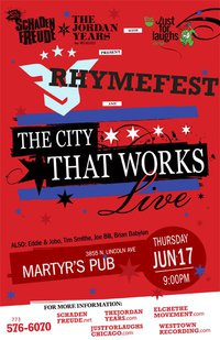 City That Works with  Rhymefest at Martyrs